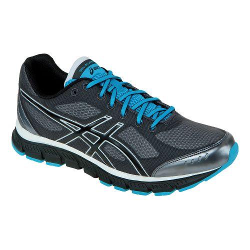 Mens ASICS GEL-Flash Running Shoe - Storm/Black 9