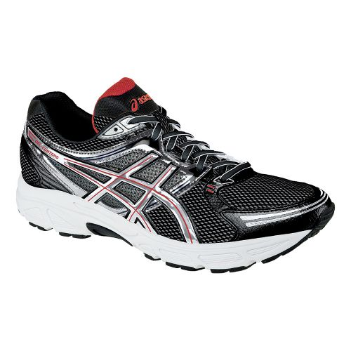 Mens ASICS GEL-Contend Running Shoe - Black/Lightning 12.5