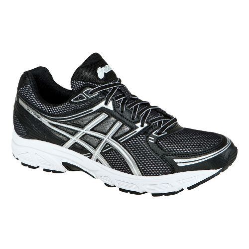 Mens ASICS GEL-Contend Running Shoe - Onyx/Lightning 14