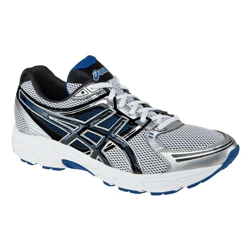 Mens ASICS GEL-Contend Running Shoe - White/Black 8.5