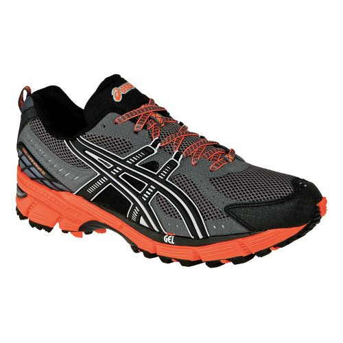 Mens ASICS GEL-Kahana 6 Trail Running Shoe - Black/Onyx 11.5