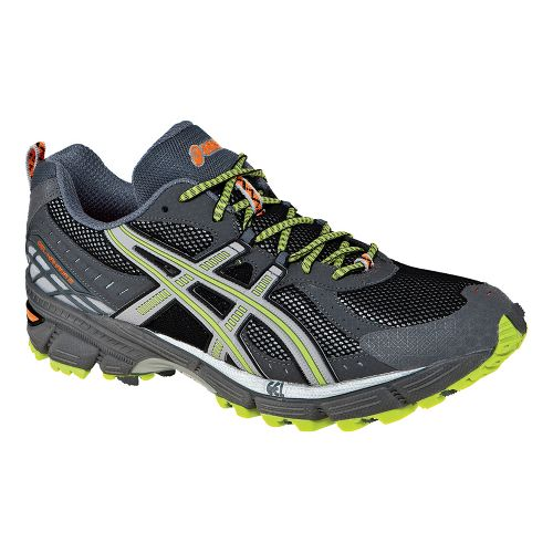 Mens ASICS GEL-Kahana 6 Trail Running Shoe - Lightning/Silver 16