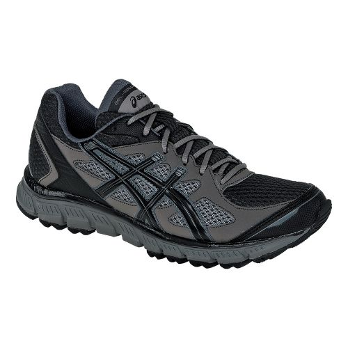 Mens ASICS GEL-Scram Trail Running Shoe - Black/Onyx 15