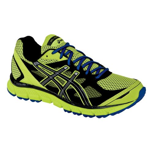 Mens ASICS GEL-Scram Trail Running Shoe - Lime/Black 10