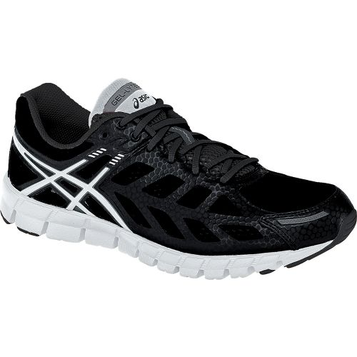 Womens ASICS GEL-Lyte33 Running Shoe - Black/White 12