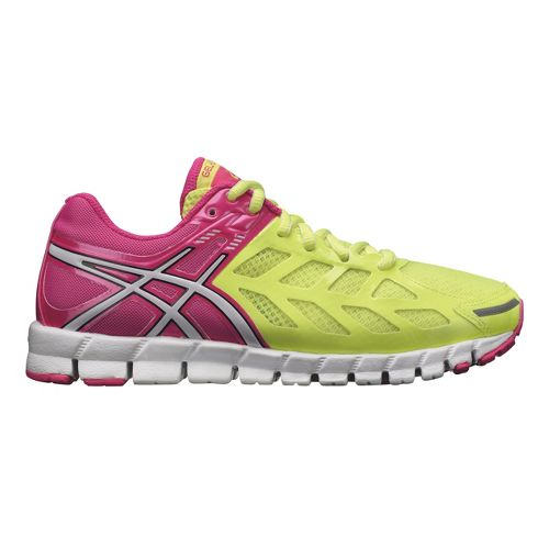 Womens ASICS GEL-Lyte33 Running Shoe - Yellow/Pink 5.5