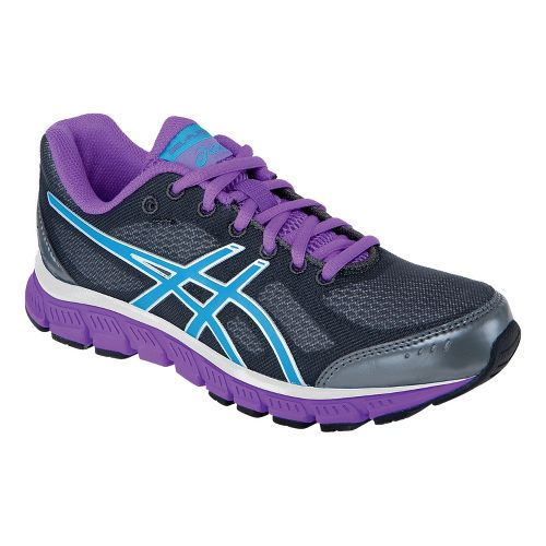 Womens ASICS GEL-Flash Running Shoe - Titanium/Electric Blue 11