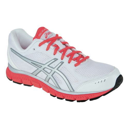Womens ASICS GEL-Flash Running Shoe - White/Lightning 8.5