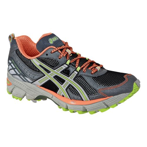 Womens ASICS GEL-Kahana 6 Trail Running Shoe - Lightning/Silver 11