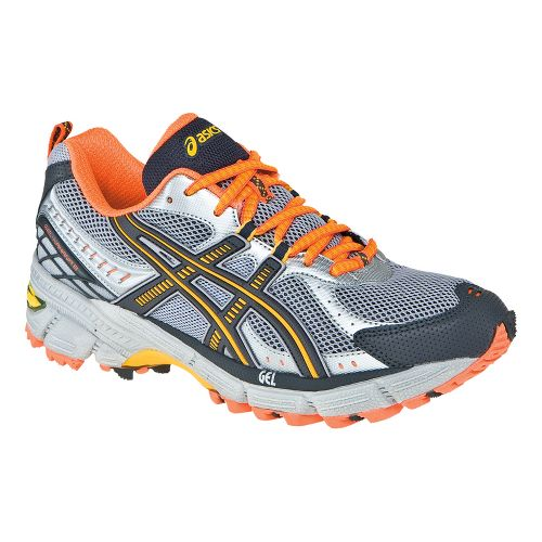 Womens ASICS GEL-Kahana 6 Trail Running Shoe - Lightning/Titanium 10