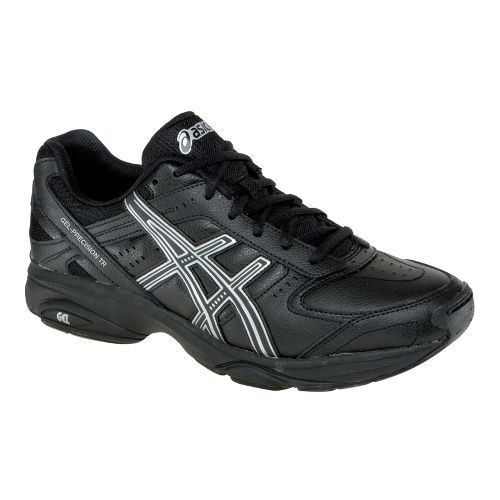 Mens ASICS GEL-Precision TR Cross Training Shoe - Black/Black 12.5