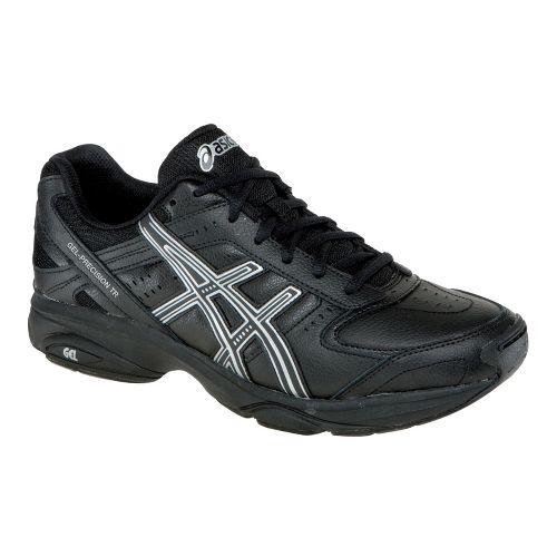 Mens ASICS GEL-Precision TR Cross Training Shoe - Black/Black 8