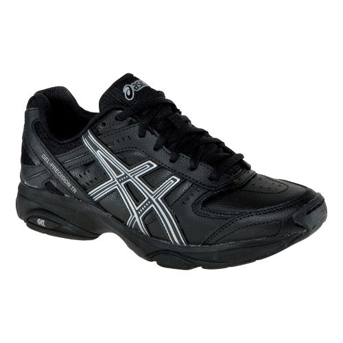 Womens ASICS GEL-Precision TR Cross Training Shoe - Black/Black 10.5