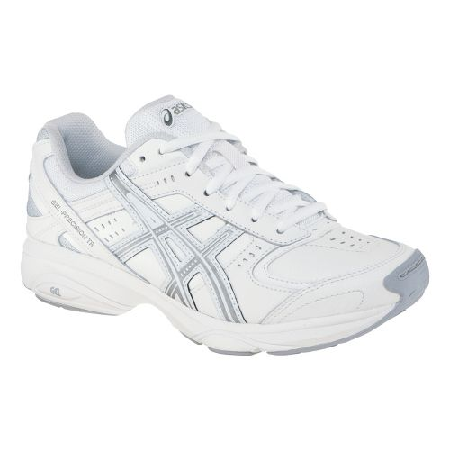 Womens ASICS GEL-Precision TR Cross Training Shoe - White/Silver 7.5