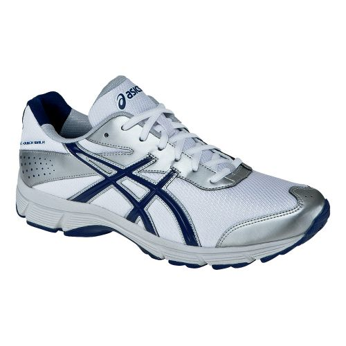 Mens ASICS GEL-Quickwalk SL Walking Shoe - White/Navy 8