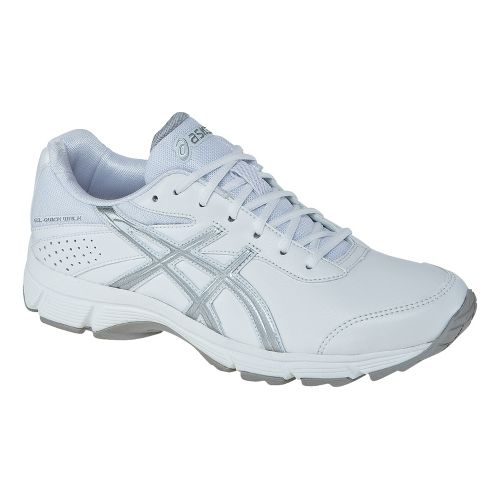 Womens ASICS GEL-Quickwalk Walking Shoe - White/Lightning 12