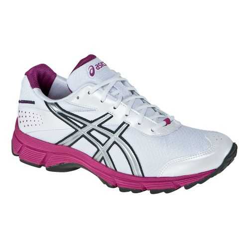 Womens ASICS GEL-Quickwalk Walking Shoe - White/Pink 12