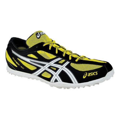 Mens ASICS Hyper XC Cross Country Shoe - Electric Lemon/White 13