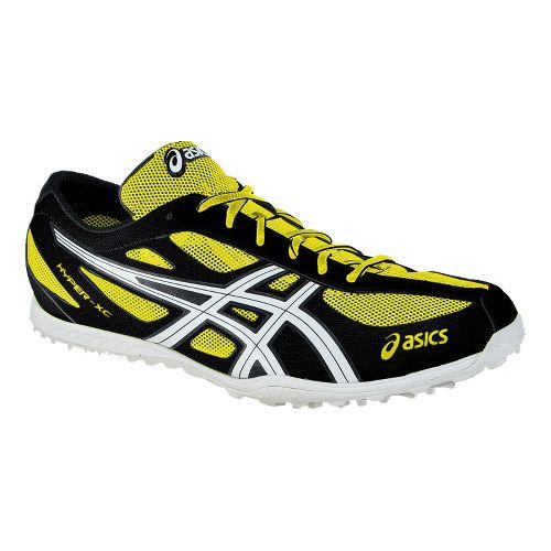 Mens ASICS Hyper XCS Cross Country Shoe - Electric Lemon/White 8