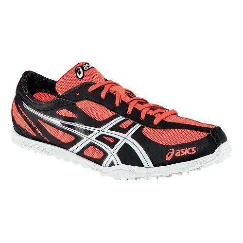 Womens ASICS Hyper-Rocketgirl XCS Spikeless Cross Country Shoe - Electric Melon/White 8.5