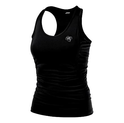 Womens ASICS AYAMi Rouche Tank Tanks Technical Tops