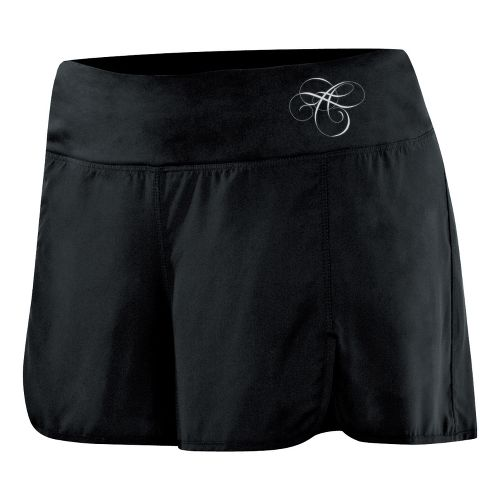 Womens ASICS AYAMi 2-N-1 Short 2-in-1 Shorts - Black/Black M