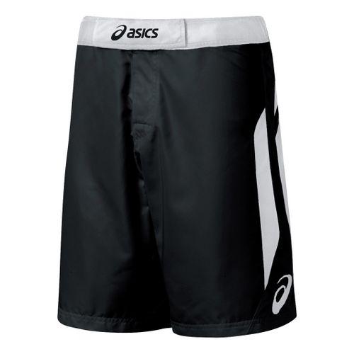 Mens ASICS Razor Short Unlined Shorts - Black/White 32