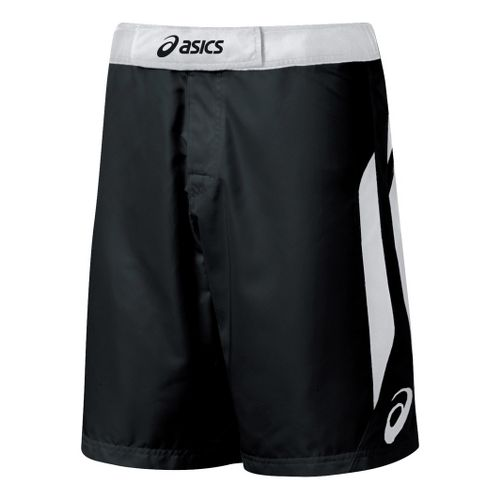 Mens ASICS Razor Short Unlined Shorts - Black/White 34