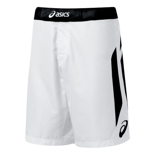 Mens ASICS Razor Short Unlined Shorts - White/Black 30
