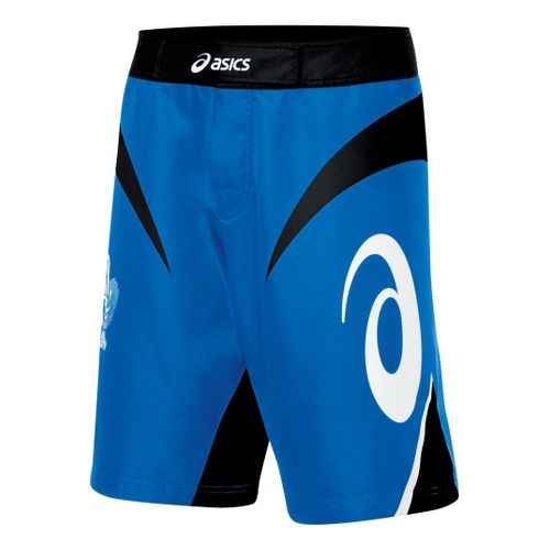 Mens ASICS Bull Short Unlined Shorts - Royal/Black 40