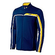 Mens ASICS Court Jacket Warm-Up Unhooded Jackets