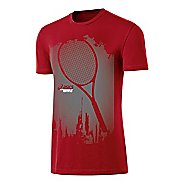 Mens ASICS Some Racquet Tee Short Sleeve Technical Tops