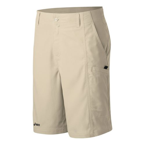 Mens ASICS Cargo Coaches Short Unlined Shorts - Stone 34