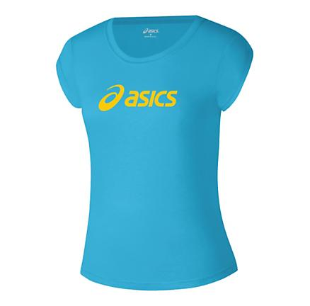 Womens ASICS Corp T Short Sleeve Technical Tops