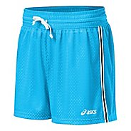 "Womens ASICS Team 4"" Mesh Short Lined Shorts"