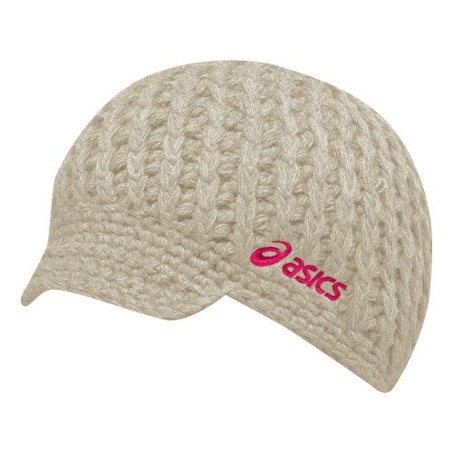 ASICS Tegan Visor Beanie Headwear - Cream/Flare