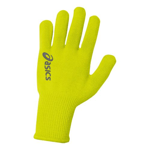 ASICS Everyday Liner Gloves Handwear - Electric Lime S/M