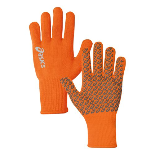 ASICS Everyday Liner Gloves Handwear - Orange Burst L/XL