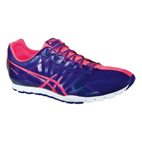 Mens ASICS BlazingFAST Running Shoe - Purple/Hot Punch 7.5