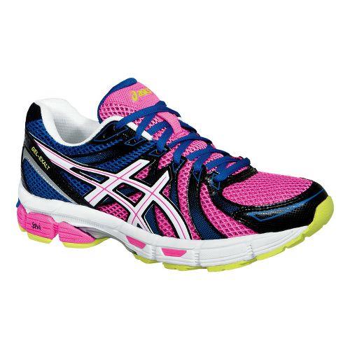 Womens ASICS GEL-Exalt Running Shoe - Bright Blue/White 9.5