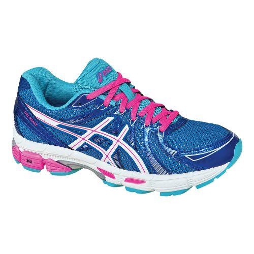 Womens ASICS GEL-Exalt Running Shoe - Electric Blue/White 10