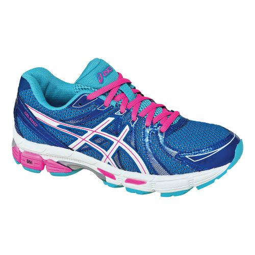 Womens ASICS GEL-Exalt Running Shoe - Electric Blue/White 7.5