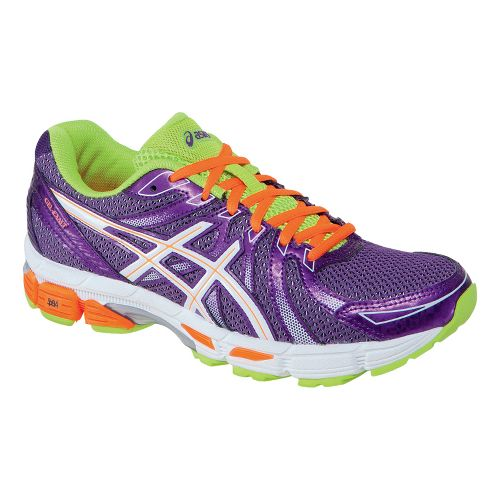 Womens ASICS GEL-Exalt Running Shoe - Plum/White 10