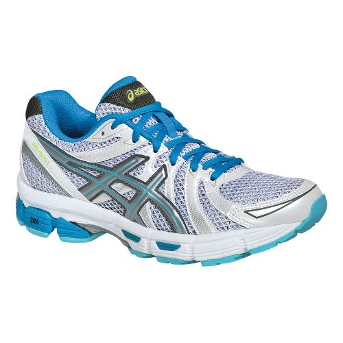 Womens ASICS GEL-Exalt Running Shoe - White/Lightning 9.5