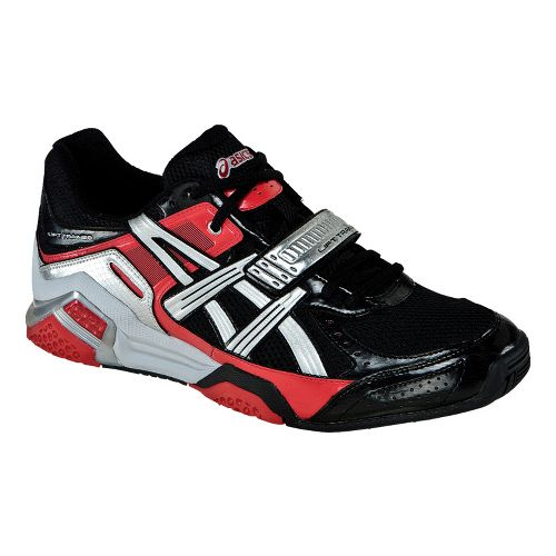 Mens ASICS Lift Trainer Cross Training Shoe - Black/Silver 9
