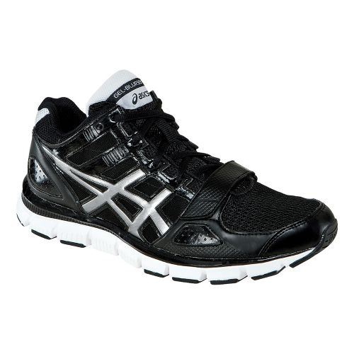 Mens ASICS GEL-Blur33 TR Mid Cross Training Shoe - Black/Silver 11.5