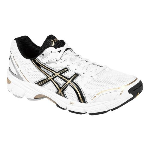 Mens ASICS GEL-180 TR Cross Training Shoe - White/Black 7.5