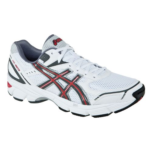 Mens ASICS GEL-180 TR Cross Training Shoe - White/Carbon 10