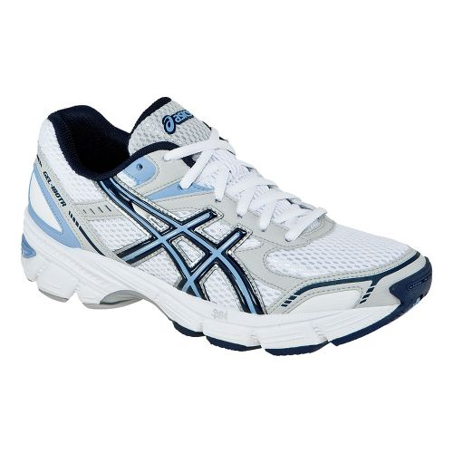 Womens ASICS GEL-180 TR Cross Training Shoe - White/Navy 8.5