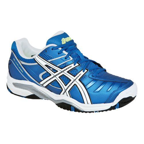 Mens ASICS GEL-Challenger 9 Court Shoe - Royal Blue/White 14